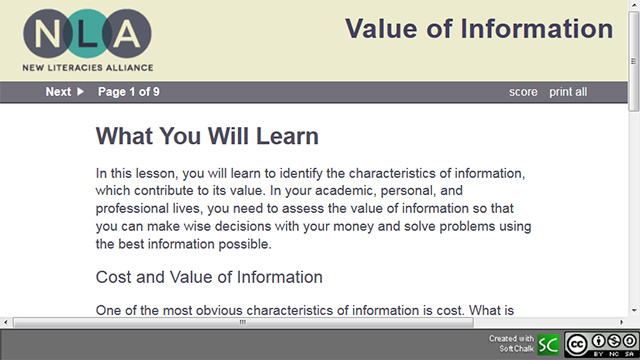 Value of Information